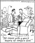 Cartoonist Mike Twohy  That's Life 2004-03-08 customer