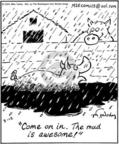 Cartoonist Mike Twohy  That's Life 2004-03-12 livestock