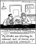 Cartoonist Mike Twohy  That's Life 2004-04-08 bar
