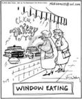 Cartoonist Mike Twohy  That's Life 2004-07-17 nutrition