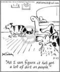 Cartoonist Mike Twohy  That's Life 2004-08-27 cat person