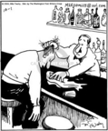 Cartoonist Mike Twohy  That's Life 2004-10-01 bar
