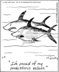 Comic Strip Mike Twohy  That's Life 2005-03-08 shark