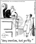 Cartoonist Mike Twohy  That's Life 2005-04-13 judge