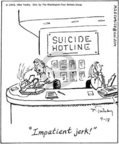 Cartoonist Mike Twohy  That's Life 2005-04-18 mental health