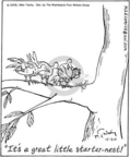 Cartoonist Mike Twohy  That's Life 2005-04-20 tree