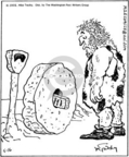 Comic Strip Mike Twohy  That's Life 2005-05-16 caveman