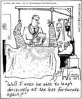 Cartoonist Mike Twohy  That's Life 2005-06-25 orthopedics