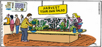 Comic Strip Mike Twohy  That's Life 2005-07-17 gardening