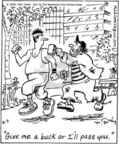 Cartoonist Mike Twohy  That's Life 2005-08-02 run