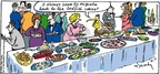 Cartoonist Mike Twohy  That's Life 2005-09-11 bird food