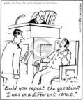 Cartoonist Mike Twohy  That's Life 2005-09-27 interest