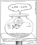 Cartoonist Mike Twohy  That's Life 2005-10-29 lap