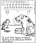 Cartoonist Mike Twohy  That's Life 2005-11-17 cat food