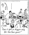 Cartoonist Mike Twohy  That's Life 2005-11-25 food