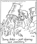 Cartoonist Mike Twohy  That's Life 2005-11-26 weather