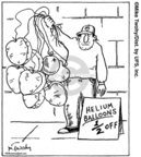 Cartoonist Mike Twohy  That's Life 2007-12-01 balloon