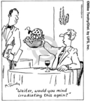 Cartoonist Mike Twohy  That's Life 2006-12-04 food safety