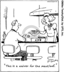 Cartoonist Mike Twohy  That's Life 2006-12-06 food safety