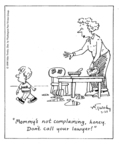 Cartoonist Mike Twohy  That's Life 1999-03-29 parent