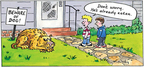 Comic Strip Mike Twohy  That's Life 2007-07-08 beware of dog