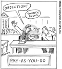 Cartoonist Mike Twohy  That's Life 2007-08-01 payment