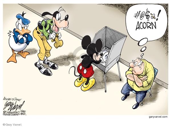 Gary Varvel  Gary Varvel's Editorial Cartoons 2008-10-15 voting rights