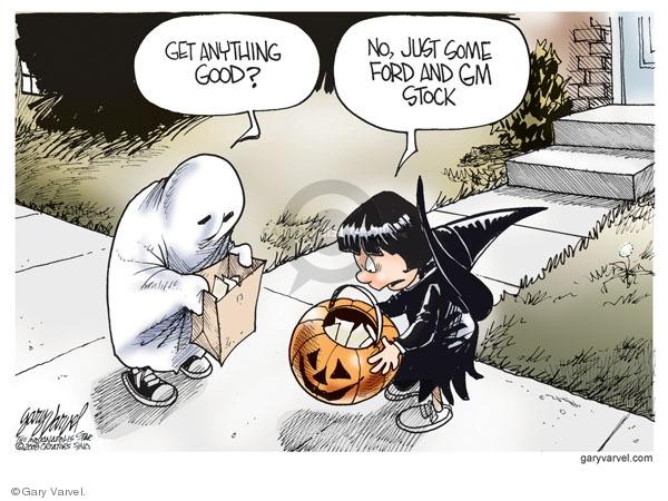 Cartoonist Gary Varvel  Gary Varvel's Editorial Cartoons 2008-10-16 Wall Street