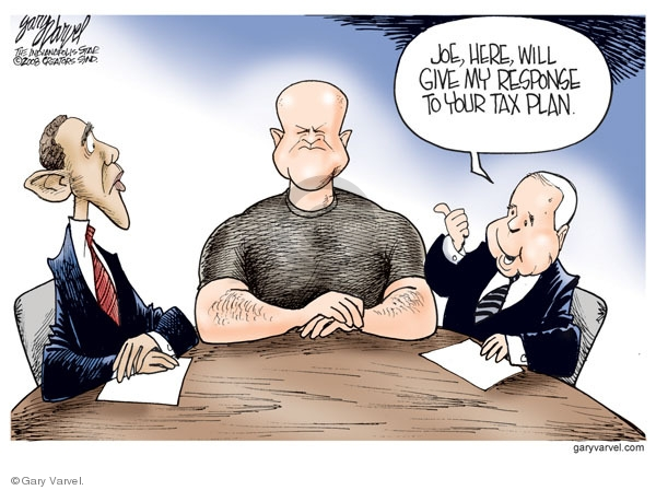 Gary Varvel  Gary Varvel's Editorial Cartoons 2008-10-17 2008 debate