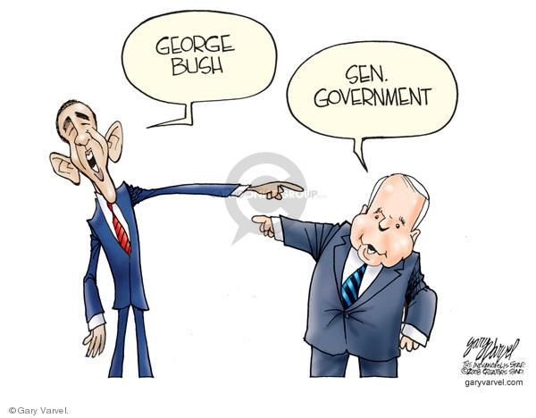 Cartoonist Gary Varvel  Gary Varvel's Editorial Cartoons 2008-10-20 John McCain