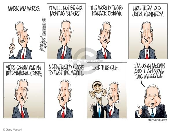 Cartoonist Gary Varvel  Gary Varvel's Editorial Cartoons 2008-10-21 didn't