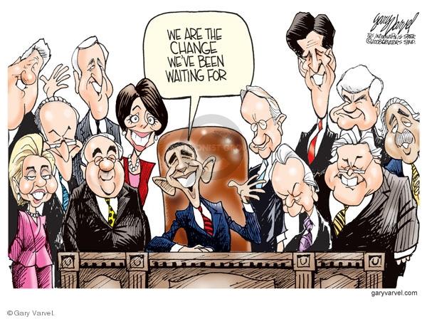 Cartoonist Gary Varvel  Gary Varvel's Editorial Cartoons 2008-10-30 2008 election