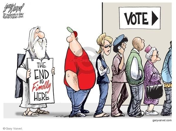 Cartoonist Gary Varvel  Gary Varvel's Editorial Cartoons 2008-11-04 2008 election