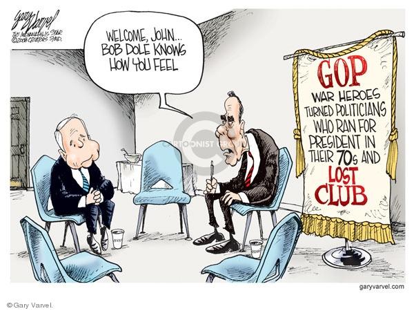 Gary Varvel  Gary Varvel's Editorial Cartoons 2008-11-08 1996 election