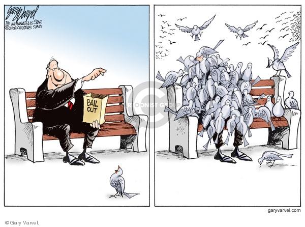 Gary Varvel  Gary Varvel's Editorial Cartoons 2008-11-13 assistance