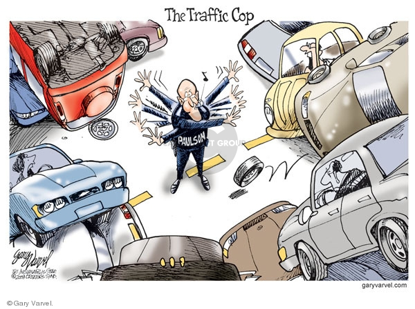 Gary Varvel  Gary Varvel's Editorial Cartoons 2008-11-14 economic crash