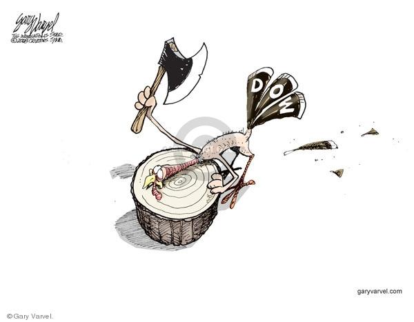 Gary Varvel  Gary Varvel's Editorial Cartoons 2008-11-24 off