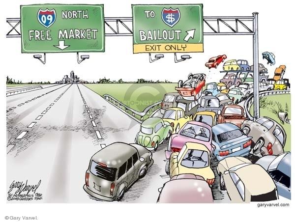 Gary Varvel S Editorial Cartoons Traffic Jam Comics And Cartoons The Cartoonist Group