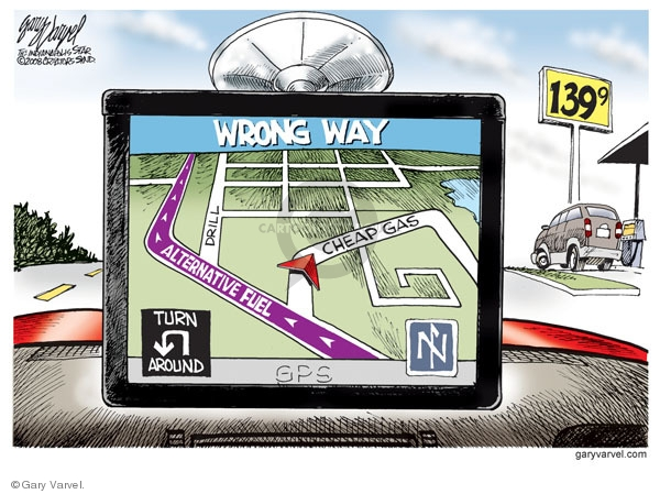 Cartoonist Gary Varvel  Gary Varvel's Editorial Cartoons 2008-12-12 alternative