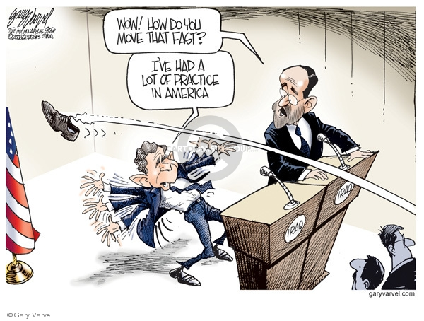 Cartoonist Gary Varvel  Gary Varvel's Editorial Cartoons 2008-12-16 Prime Minister
