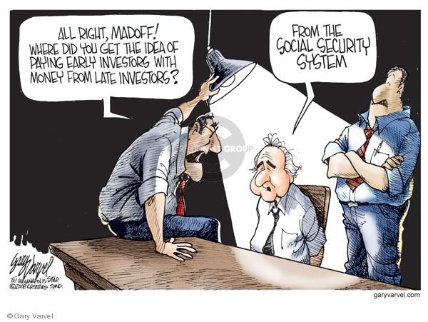 Cartoonist Gary Varvel  Gary Varvel's Editorial Cartoons 2008-12-18 social