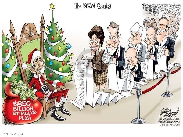 Gary Varvel  Gary Varvel's Editorial Cartoons 2008-12-19 elect