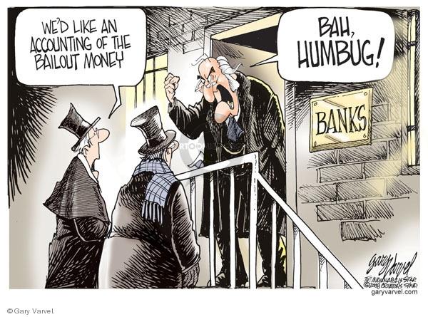 Cartoonist Gary Varvel  Gary Varvel's Editorial Cartoons 2008-12-24 recession