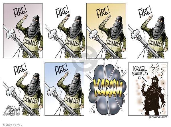 Gary Varvel  Gary Varvel's Editorial Cartoons 2008-12-31 Palestine