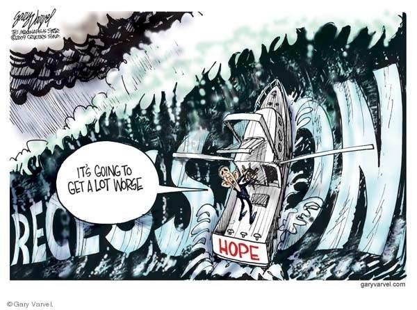 Cartoonist Gary Varvel  Gary Varvel's Editorial Cartoons 2009-01-09 Barack Obama
