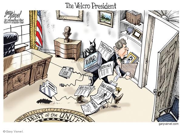 Cartoonist Gary Varvel  Gary Varvel's Editorial Cartoons 2009-01-15 Iraq war