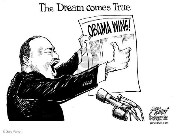 Cartoonist Gary Varvel  Gary Varvel's Editorial Cartoons 2009-01-19 Barack Obama