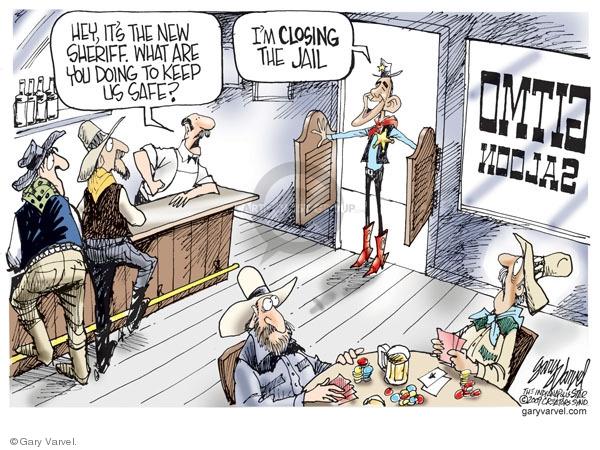 Cartoonist Gary Varvel  Gary Varvel's Editorial Cartoons 2009-01-23 Barack Obama
