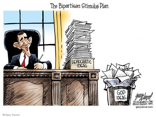 Gary Varvel  Gary Varvel's Editorial Cartoons 2009-01-29 republican party