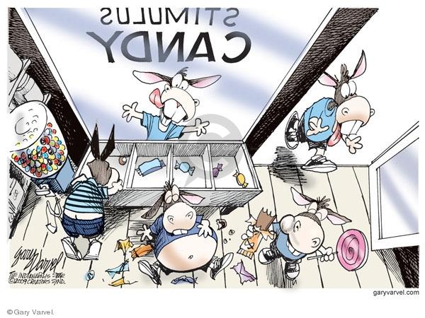 Cartoonist Gary Varvel  Gary Varvel's Editorial Cartoons 2009-02-06 economy